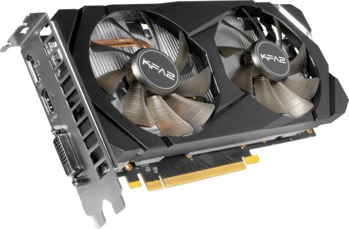 KFA² GeForce GTX 1660 Ti [1-Click OC], 6GB GDDR6, DVI, HDMI, DP (60IRL7DSY91K)