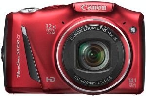 Canon PowerShot SX150 IS red (5663B012)