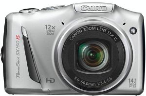 Canon PowerShot SX150 IS silver (5250B012)