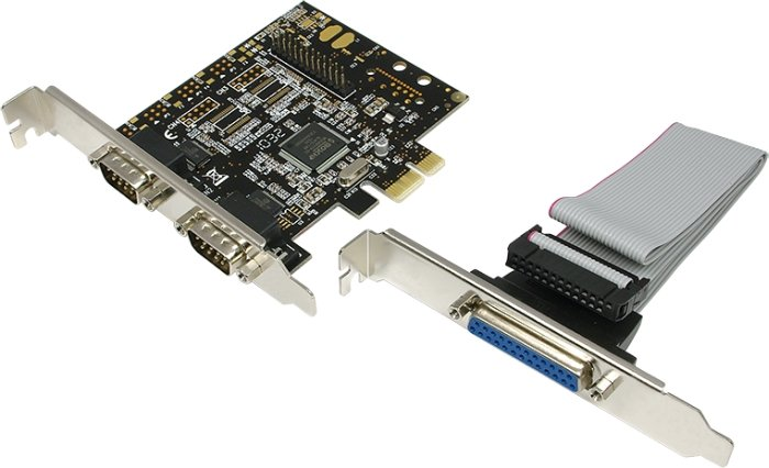 LogiLink 1x parallel/2x seriell, PCIe x1 (PC0033)