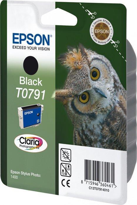 Epson T0791 tusz czarny (C13T07914010)