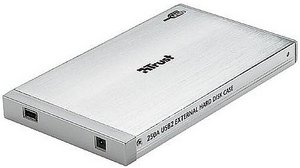 "Trust NB-4100p/250A USB2 external Hard Disk case, 2.5"" (13954)"