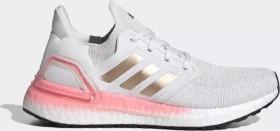 adidas Ultra Boost 20 crystal white/copper metallic/light flash red (Damen) (EG0724)