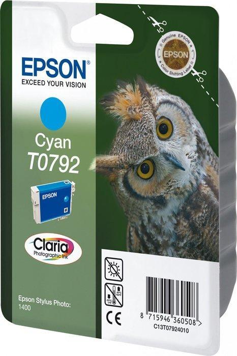Epson T0792 tusz błękitny (C13T07924010)