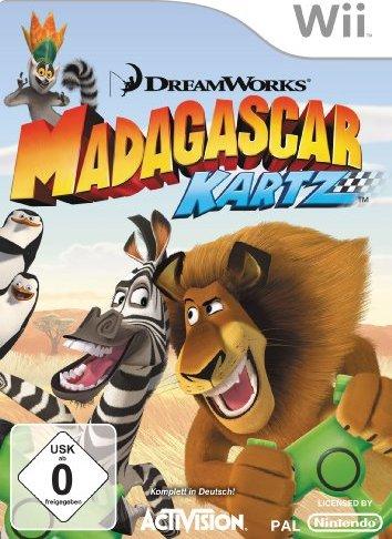 Madagascar - Kartz (deutsch) (Wii) -- via Amazon Partnerprogramm