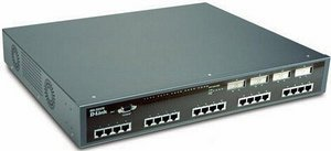 D-Link DGS-3224TG, 24-port managed