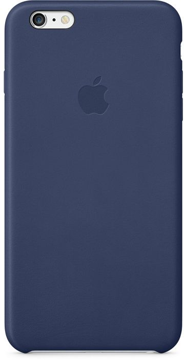 Apple Leder Case für iPhone 6 Plus schwarzblau (MGQV2ZM/A)