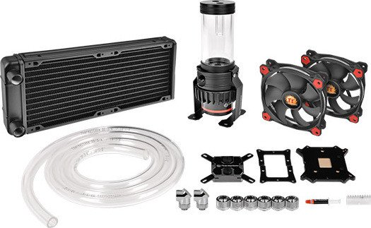 Thermaltake Pacific R240 D5 Water Cooling Kit (CL-W196-CU00RE-A)