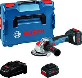 Bosch Professional GWS 18V-10 SC Akku-Winkelschleifer inkl. L-Boxx + 2 Akkus 6.0/8.0Ah (06019G340H)