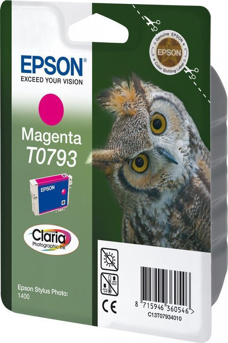 Epson T0793 tusz purpurowy (C13T07934010)