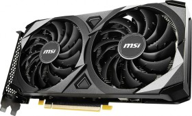 MSI GeForce RTX 3060 Ti Ventus 2X 8G OCV1 LHR, 8GB GDDR6, HDMI, 3x DP (V397-232R)
