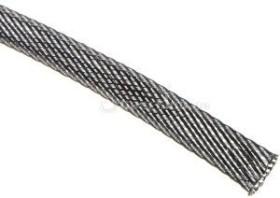"""Techflex Flexo PET 3/8""""/9.5mm carbon, Gewebeschlauch (PTN0.38-CB)"""