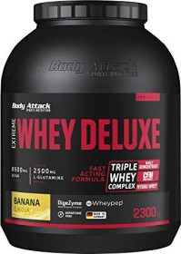Body Attack Extreme Whey Deluxe Protein Banane 2.3kg