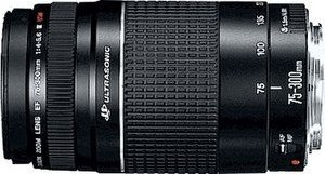 Canon EF 75-300mm 4.0-5.6 III USM schwarz (6472A003/6472A012)