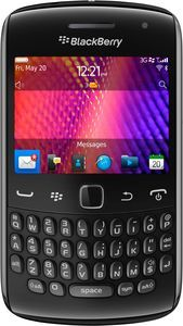 Blackberry Curve 9360 black -- The RIM and BlackBerry families of related marks, images and symbols are the exclusive properties of, and trademarks of, Research In Motion – used by permission.
