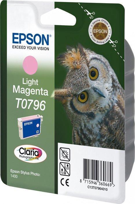 Epson T0796 tusz purpurowy jasny (C13T07964010)