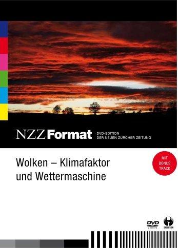 NZZ Format: Wolken - Klimafaktor und Wettermaschinen -- via Amazon Partnerprogramm