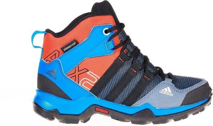 adidas AX2 ClimaProof mid onix core Noir shock Bleu Junior Junior Bleu 3bc44a