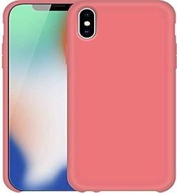 Pedea Liquid Silicone Case für Apple iPhone X pink (50160748)