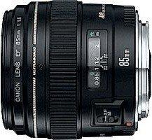 Canon EF 85mm 1.8 USM schwarz (2519A004/2519A012)