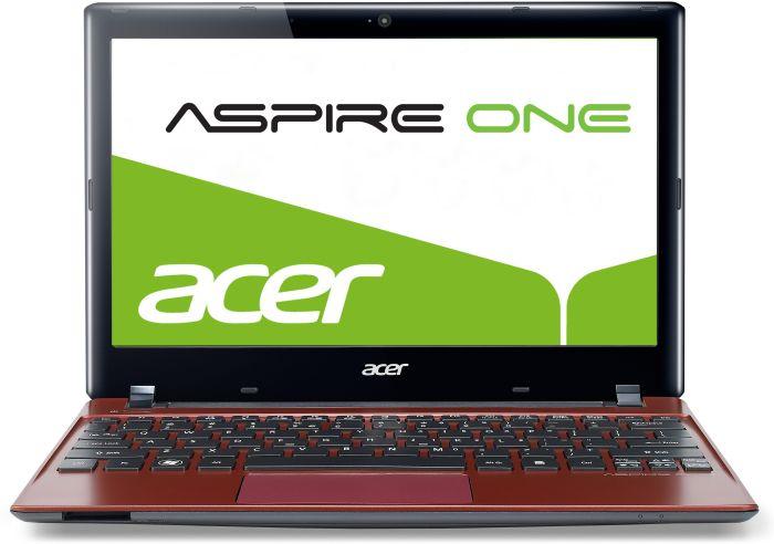 Acer Aspire One 756 rot, Pentium 997, 4GB RAM, 500GB HDD, non-glare (NU.SGZEG.057)