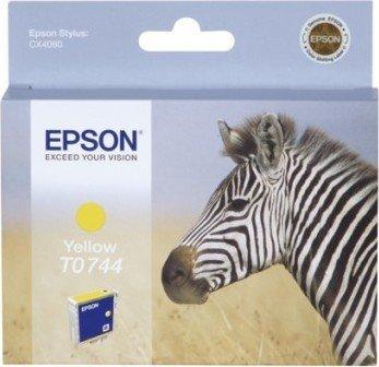 Epson T0744 tusz żółty (C13T074440)