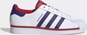 adidas Superstar cloud white/purple/scarlet (FV4189)