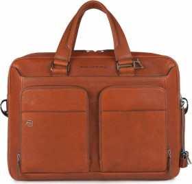 "Piquadro Black Square Kurzgrifflaptoptasche 15"", orange (CA2849B3-AR)"