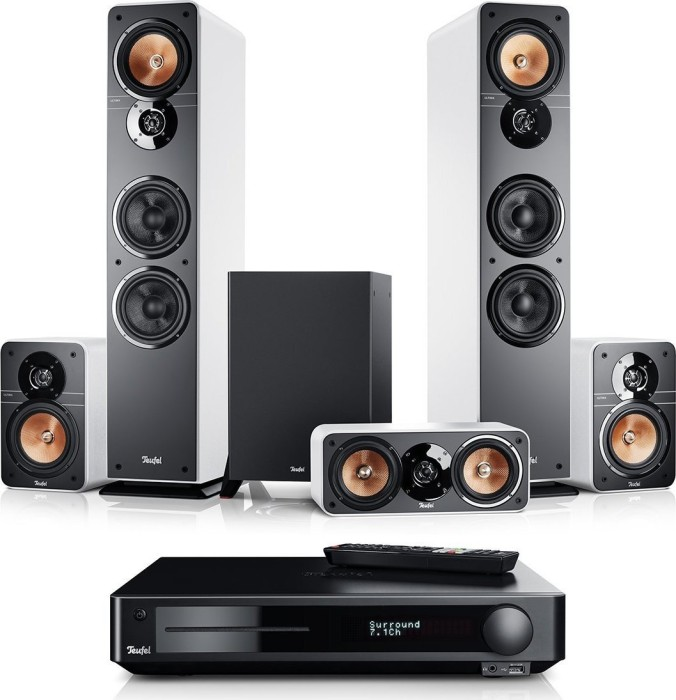 "Teufel Ultima 40 Surround Impaq ""5.1-Set"" weiß"
