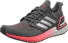 adidas Ultra Boost 20 grey five/silver metallic/signal pink (Damen) (FV8347)