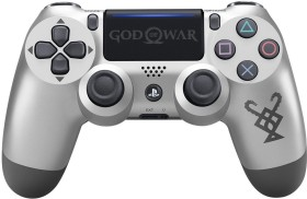 Sony DualShock 4 2.0 Controller wireless God of War Limited Edition silber (PS4)