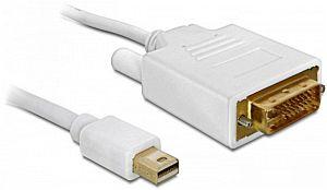 DeLOCK Mini DisplayPort/DVI Kabel 5m (82920)