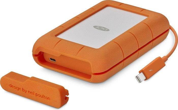 LaCie Rugged Secure +Rescue 2TB, USB-C 3.0 (STFR2000403)