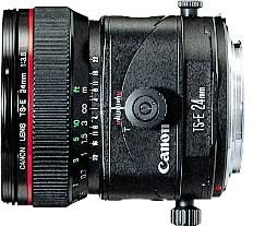 Canon TS-E 24mm 3.5 L Tilt/Shift black (2543A005/2543A019)