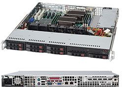 Supermicro 113MTQ-330CB black, 1U, 330W