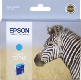 Epson Tinte T0742 cyan (C13T074240)