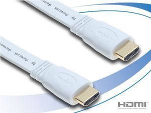 PureLink Basic+ High Speed HDMI cable white 1m (HC0006-01)