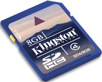 Kingston SDHC 8GB, Class 4 (SD4/8GB)