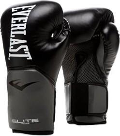 Everlast elite training boxing gloves 12oZ grey