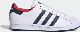 adidas Superstar cloud white/collegiate navy/red (FV8270)
