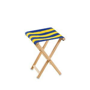 Kika Garden Stools blue/yellow