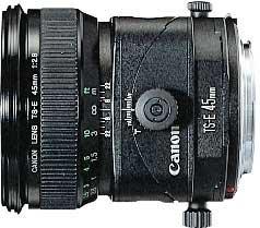Canon TS-E 45mm 2.8 tilt/shift black (2536A005/2536A019)