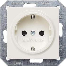 Siemens DELTA i-system SCHUKO-Steckdose, titanweiß (5UB1518)