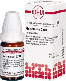 DHU Gelsemium C200 Globuli, 10g
