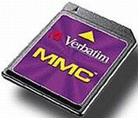 Verbatim MultiMedia Card (MMC)   64MB (47112)