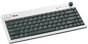 Trust KB-2800 Wireless Pointer Stick Keyboard, USB, DE (14855)