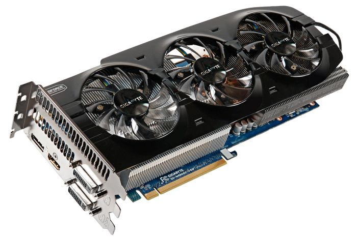Gigabyte GeForce GTX 680 OC, 4GB GDDR5, 2x DVI, HDMI, DisplayPort (GV-N680OC-4GD)