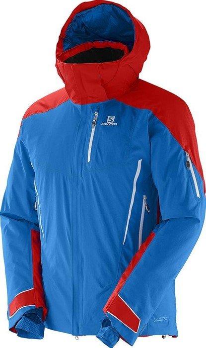Skijacke blau rot