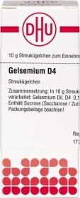 DHU Gelsemium D4 Globuli, 10g