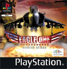 Eagle One - Harrier Attack Best of Infogrames (PS1)